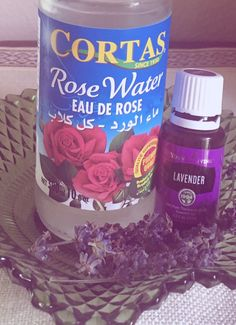 My favorite DIY toner  1 T Witch Hazel , 2 T Rose water  1/4 to 1/2 cup distilled water  2 drops Lavender  I add round Cotten face wipes so they are ready to go . After I wipe my face I cut in half and place under my eyes got about 10 minutes . Thank you Lord ! My face is so Happy. The smell is Heavenly, and I feel like a Princess .