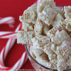 Chex Peppermint Bark Munch amazing Christmas gift idea