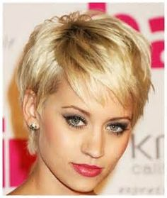 Short Hairstyles for Round Faces and Thick Hair 2014: Short Hairstyles ...