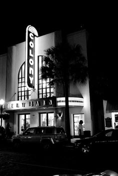 Colony Theater in Winter Park, Florida. Art Deco. Now a Pottery Barn. Leica X1.
