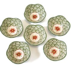 temp-tations® Old World Set of 6 Flower Dipping Bowls :: temp-tations® by Tara