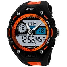 Charitable New Skmei Brand Watch Solar Energy Men Electronic Sports Watches Multifunctional Outdoor Water Resistant Digital Wristwatches Watches