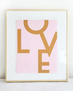 LOVE by Stephanie Sterjovski at MadeByGirl.com