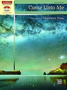 Come Unto Me: 10 Comforting Solo Piano Arrangements for Worship (Alfred's Sacred Performer Collections):   For this collection, concert pianist Marilynn Ham has taken well-loved hymn, folk, spiritual, and classical melodies and turned them into beautiful solo piano arrangements. Rich textures, inspired by the Romantic composers, are combined with appealing contemporary harmonies. To assist in planning, approximate performance times are included. Titles: Abide with Me br* Breathe on Me,...