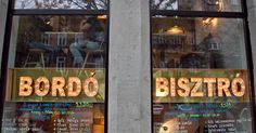 Bordó garden és bisztró At the corner of Nagymező Street and Király Street, a new bistro called Bordó (Claret) is a quite similar place to Most!. The offerings include a three-course menu, á la...