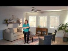 Choosing the Right Size Ceiling Fan - Helpful tips on ceiling fans from Kichler Handy Tips, Helpful Tips, Brushed Stainless Steel, Brushed Nickel, Dining Nook, Dining Bench, 52 Ceiling Fan, Fan Brush, Indoor Outdoor Living
