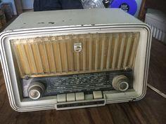 Vintage Valve Radio Philips Philetta