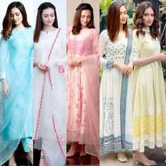 Simple Pakistani Dresses, Pakistani Dress Design, Stylish Dresses For Girls, Simple Dresses, Dress Indian Style, Indian Dresses, Stylish Kurtis Design, Pakistani Fashion Party Wear, Indian Designer Outfits