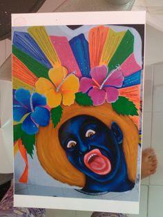Ideas Para, Painting, Shirts, Blouses, Carnivals, Stitching, Xmas, Blue Prints, Painting Art