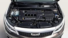 2014 Qoros 3 Sedan Engine