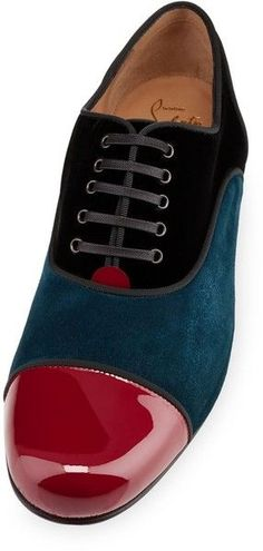 Designer Spotlight: The sheer genius of Christian Louboutin. Multicolor John John Flat Shoes. Follow rickysturn/mens-fashion for more Fashion Trends and Style Tips