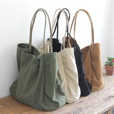 Brown Tote Bag Canvas Tote Bags With Pockets Tote Bags For Women Tote Bags For Bridesmaids Canvas Bag For Women Canvas Bag Tote Travel Bag Large Canvas Tote Bags, Large Bags, Canvas Totes, Big Bags, Tote Bag With Pockets, Bag Women, Travel Bags For Women, Canvas Shoulder Bag, Shoulder Bags
