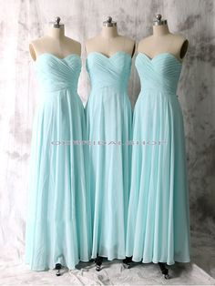 long bridesmaid dresses, tiffany blue bridesmaid dresses, strapless bridesmaid…