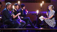 Morten Harket, Magne Furuholmen & Pål Waaktaar-Savoy answer your questions with Jo Whiley. RADIO BBC LONDRES - 2016