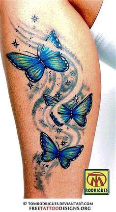 60 Awesome free butterfly tattoo designs + the meaning of butterfly tattoos. Designs include: feminine, tribal and lower back butterfly tattoos. Butterfly Tattoo Cover Up, Tribal Butterfly Tattoo, Butterfly Tattoo Meaning, Butterfly Tattoo On Shoulder, Butterfly Tattoos For Women, Butterfly Tattoo Designs, Tatoo Henna, Tatoo Art, Body Art Tattoos