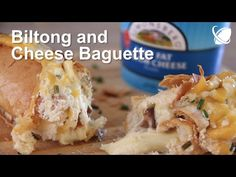 Biltong and Cheese Baguette - YouTube