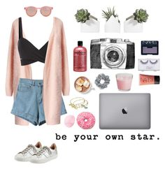 """be your own star."" by unicornawesomenesss ❤ liked on Polyvore featuring Joie, Chicwish, Le Specs, Alex and Ani, Natasha Couture, philosophy, Sonia Kashuk, NARS Cosmetics, Topshop and women's clothing"
