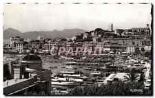 CPM Cannes A M le Port et le Suquet au l'Esterel Bateaux