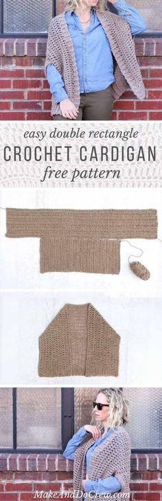 This free crochet sweater patt
