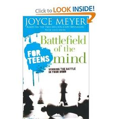 Battlefield of the Mind for Teens: Winning the Battle in Your Mind - I am reading this with the intention of having my children read through it, it's fabulous!!!  If we want to produce healthy, independent adults, we need to teach them how to have a healthy thought life!  What you don't control, controls you!