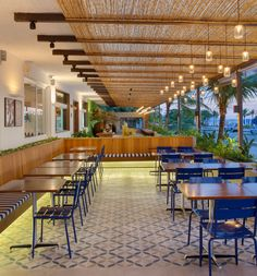 Restaurante - Restaurant - Hotel Praia Linda - Studio 021 - Ladrilho Hidráulico