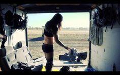 Motocross. Maidens that ride.