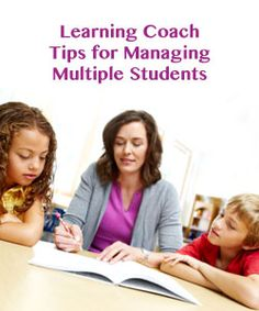 """Learning Coach Secrets: Managing Multiple Students"" on Virtual Learning Connections http://www.connectionsacademy.com/blog/posts/2013-11-15/Learning-Coach-Secrets-Managing-Multiple-Students.aspx"