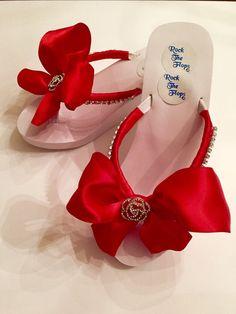 c9b7bd3c465d6 Wedding Flip Flops.Red Flip Flops. Wedding Shoes. Bridal Shoes.Bridesmaid  Shoes Red Sandals Bridesmaid Sandals Bride Gifts on Etsy