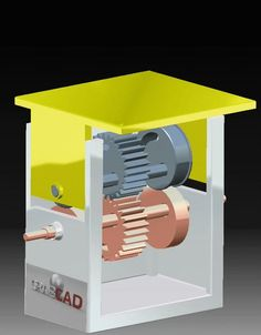 Rotation to translation mechanism - CATIA - 3D CAD model - GrabCAD