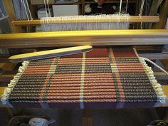 Dörrmatta med inslag av rep by anki lindstrom larsson, via Flickr