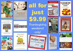 Sneak peak- Thanksgiving weekend sale 2012 play ebook bundle