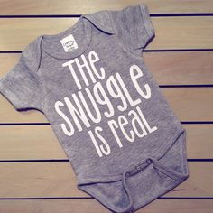 The SNUGGLE is real! This has got to be an all time favorite! This listing is for short sleeves but long sleeves are available as well! (See