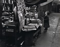 André Kertész  New York City, November 1950    From On Reading