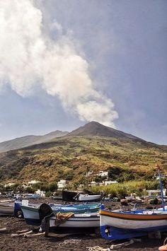 Stromboli en Sicile - Les plus beaux villages d'Italie - Elle