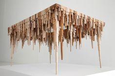 Esculturas de madeira inspiradas nas paisagens urbanas - IDEAGRID _05