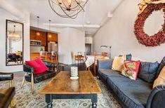 Lofts For Rent, Gas Bbq, West Village, Brick Wall, Balcony, Den, Restaurants, Shops, Victoria