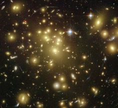 1/09/2003 Abell 1689 Warps Space. Galaxy Cluster Abell 1689.