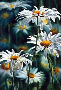 flower painting examples 02