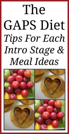 The GAPS Diet - Information About Preparing For & Tips For Each Intro Stage