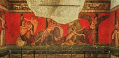 """Fragmento del libro de Marc Fumaroli """"París - Nueva York - París. Viaje al mundo de las artes y las imágenes"""" dedicado a las pinturas de la Villa de los Misterios de Pompeya."""