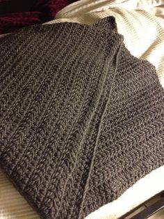 Djkleinfelder's Double Crochet Throw