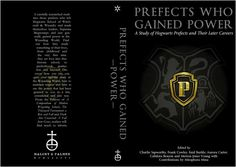 Harry Potter Hogwarts printable book | Prefects who gained Power