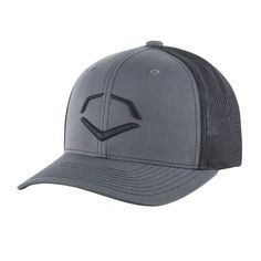 f16b2e0c EvoShield's Speed Stripe Mesh Flex Fit Hat offers a breathable mesh back to  keep you cool