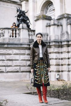 London Fashion Week Fall 2017 Street Style Day 4 - The Impression