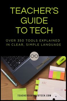 Grab hold of technology and make it start working for you. The Teacher's Guide to Tech has a suite of useful products that will make your use of educational technology so much better. Get it NOW! #CultofPedagogy