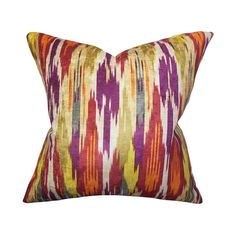 The Pillow Collection Ulyanka Spice Orange 18 x 18 Geometric Throw... ($58) ❤ liked on Polyvore featuring home, home decor, throw pillows, geometric throw pillows, orange home accessories, tangerine throw pillows, geometric home decor and the pillow collection