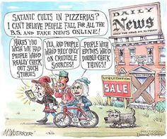 Here's the latest political cartoon from POLITICO's cartoonist Matt Wuerker 🍕