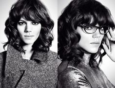 UGH I need the bangs!!    Freja Beha Erichsen by Mario Sorrenti for MaxMara Fall Winter 2010.11