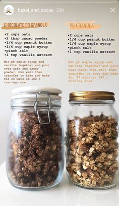 Low Carb Breakfast Recipes – The Keto Diet Recipe Cafe Healthy Sweets, Healthy Snacks, Healthy Eating, Easy Granola Recipe Healthy, Whole Food Recipes, Snack Recipes, Cooking Recipes, Potato Recipes, Pasta Recipes