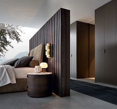 May 2019 - Perfect bedroom space planning. Elegant Bedroom Design, Luxury Bedroom Design, Luxury Home Decor, Modern Interior Design, Luxury Homes, Modern Elegant Bedroom, Trendy Bedroom, Modern Master Bedroom, Master Bedroom Design